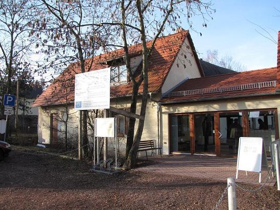 Eingangsbereich des Museum Petersberg
