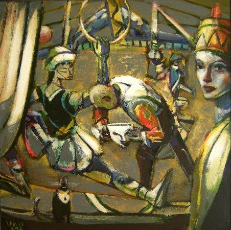 Gemälde Die Maske von Jost Heyder
