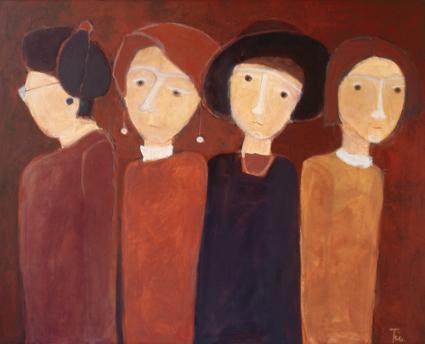Bild Vier Frauen