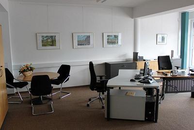 Arbeits- und Büroraum im Bildunswerk der Wirtschaft in Magdeburg