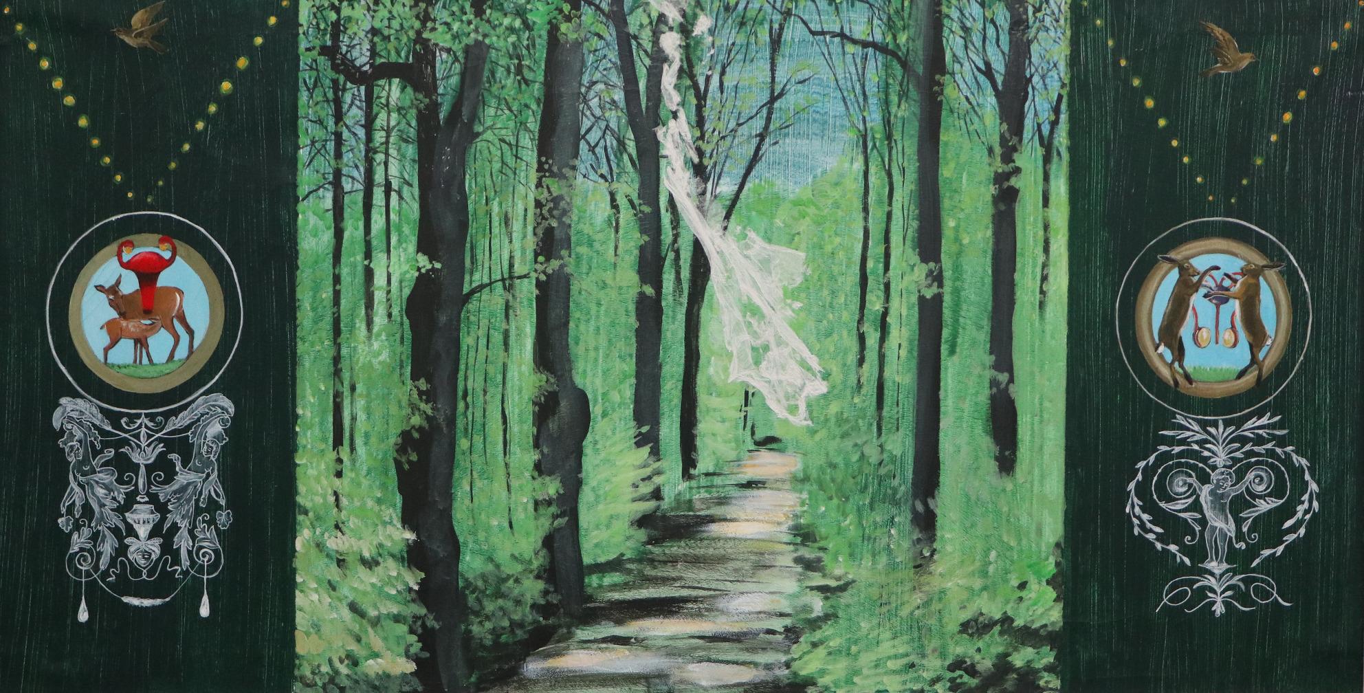 Bild von Hendrik Tauché Titel Frühling im Wald
