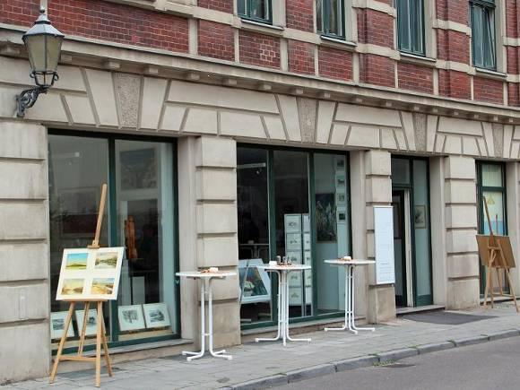 Galerieeröffnung in der Sternstraße 8 am 27. Juni 2013